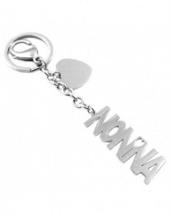 Portachiavi scritta nonna personalizzabile con incisione in acciaio prt0034