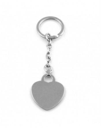 Portachiavi donna cuore personalizzabile con incisione prt0178