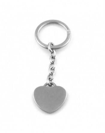 Portachiavi donna cuore personalizzabile con incisione prt0179