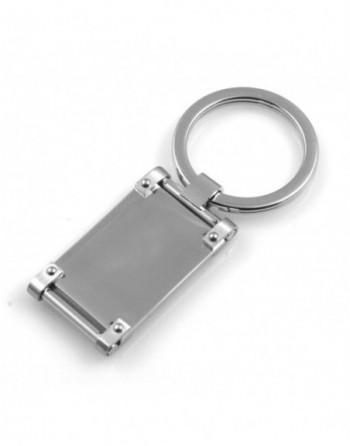 Portachiavi uomo rettangolare personalizzabile con incisione prt0214