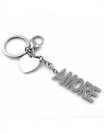 Portachiavi scritta amore personalizzabile con incisione in acciaio prt0228