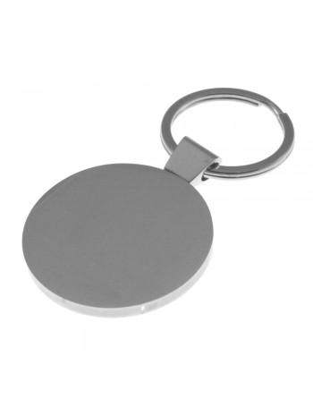 portachiavi tondo personalizzabile con incisione - prt0171