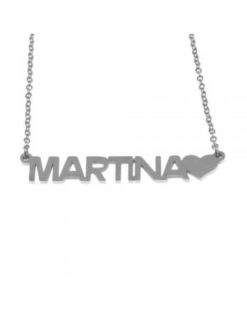 collana con nome Martina -...