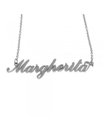 collana con nome Margherita...
