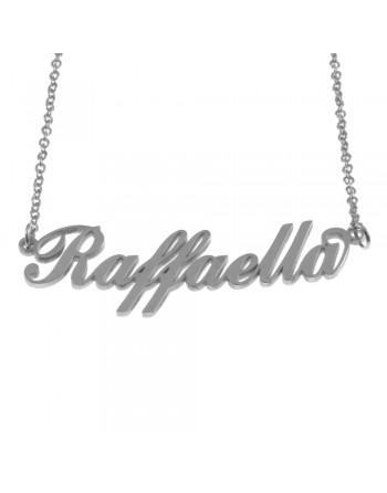 collana con nome Raffaella...