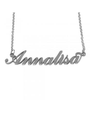 collana con nome Annalisa -...
