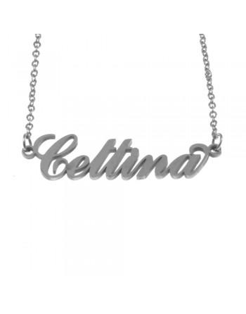 collana con nome Cettina -...