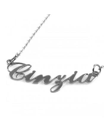 collana con nome Cinzia -...
