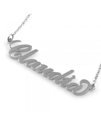 collana con nome Claudia - col0855