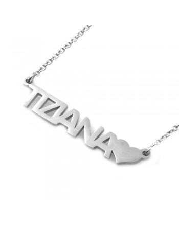 collana con nome Tiziana -...