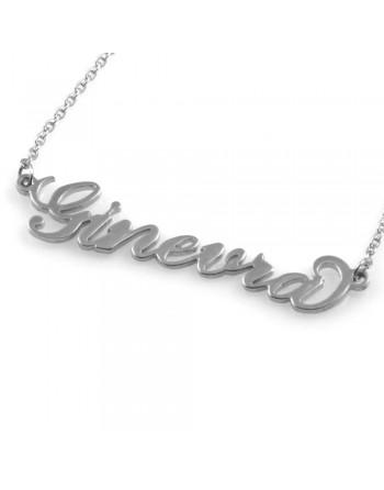 collana con nome Ginevra - col1784