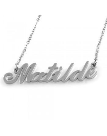 collana con nome Matilde - col1790