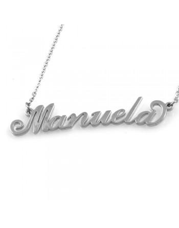 collana con nome Manuela - col1793