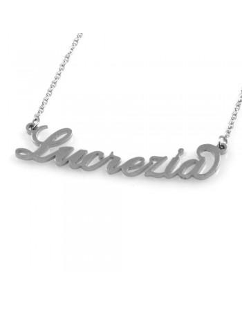 collana con nome Lucrezia - col1794