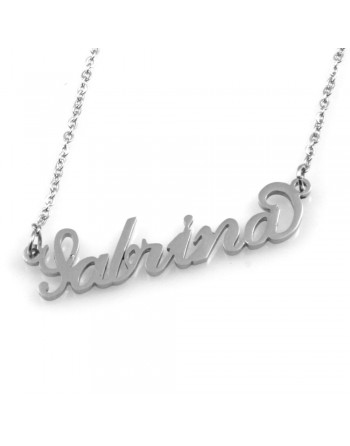collana con nome Sabrina - col1800