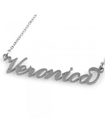 collana con nome Veronica - col1803
