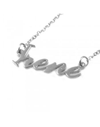 collana con nome Irene - col1812