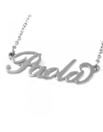 collana con nome Paola - col1816