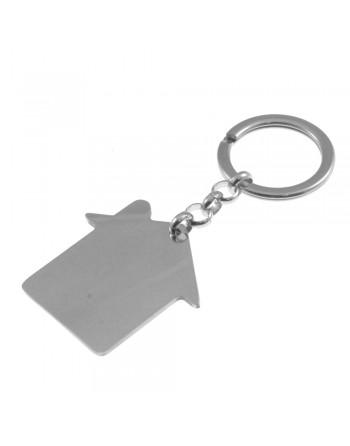copy of Portachiavi forma di casa personalizzabile con incisione prt0070
